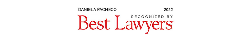 Daniela Pacheco recognized by Best Lawyers, 2022