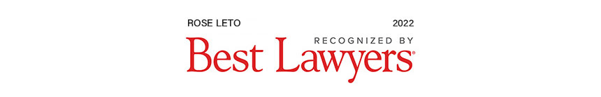 Rose Leto recognized by Best Lawyers, 2022