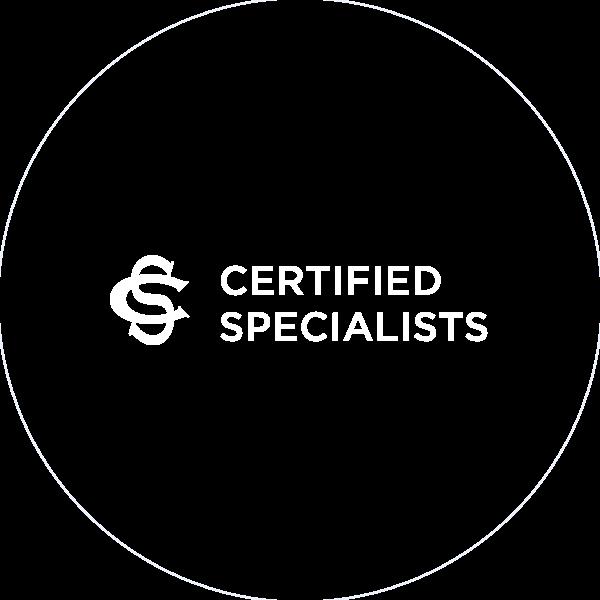 Certified Specialist Award