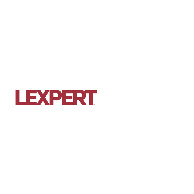 Lexpert Ranked Award to Neinstein Medical Malpractice Lawyers